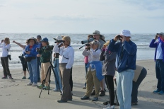 SIB Members on North Beach - Dean Morr