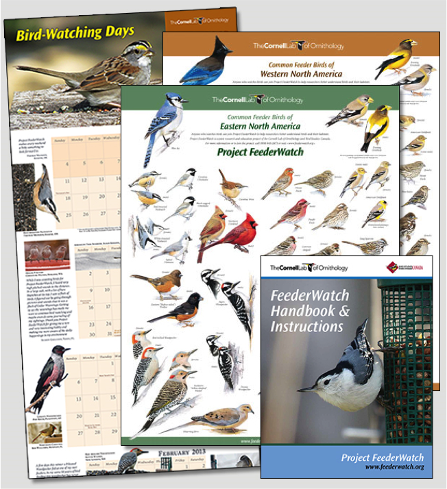 Receive all of this FREE for joining Project FeederWatch