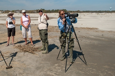 Janet & Felicia from SC DNR talk to SIB - Ed Konrad