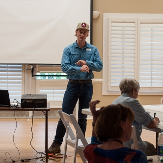 Nolan SC Audubon Red Knot & Stewardship Training - Ed Konrad