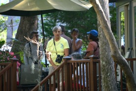 SIB Members enjoying the decks at Lee Hurd's home - Dean Morr