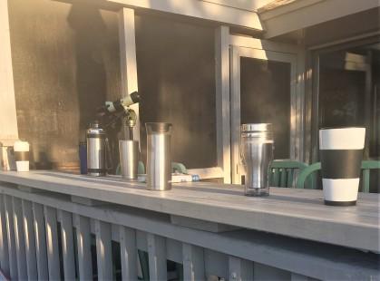Warm coffee on a brisk morning - Melanie Jerome