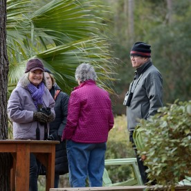 SIB's Backyard Birding at Lee Hurd's Home on Loblolly Lane.