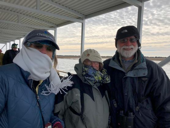 Melanie Jerome, Eileen & Bob Mercer