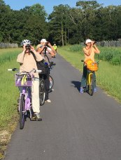 SIB Birders biking Greenway - Melanie Jerome