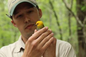 1 Matt Johnson, Francis Beidler Forest, photo by Marcie Daniels
